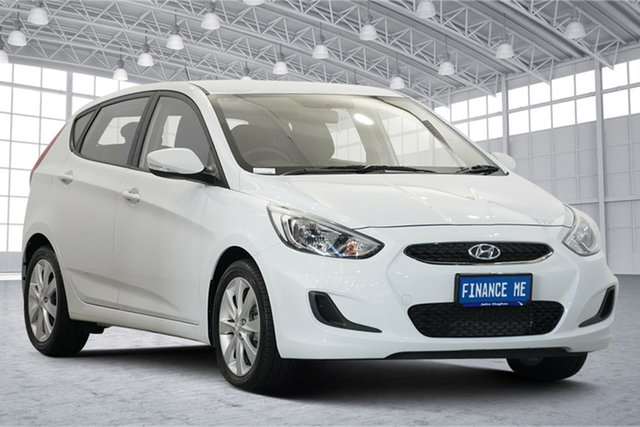 Used Hyundai Accent RB6 MY19 Sport Victoria Park, 2019 Hyundai Accent RB6 MY19 Sport White 6 Speed Sports Automatic Hatchback