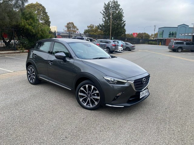 Used Mazda CX-3 DK2W7A sTouring SKYACTIV-Drive Mile End, 2018 Mazda CX-3 DK2W7A sTouring SKYACTIV-Drive Grey 6 Speed Sports Automatic Wagon
