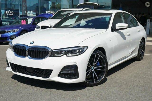 Used BMW 330i F30 LCI M Sport Brookvale, 2020 BMW 330i F30 LCI M Sport Alpine White 8 Speed Auto Steptronic Sport Sedan