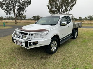 2013 Holden Colorado RG MY14 LTZ Space Cab Summit White 6 Speed Sports Automatic Utility