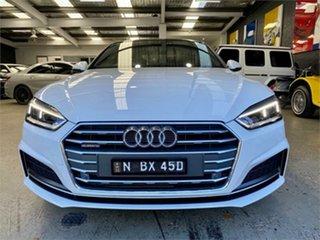 2018 Audi A5 F5 45 TFSI sport White Sports Automatic Dual Clutch Coupe.