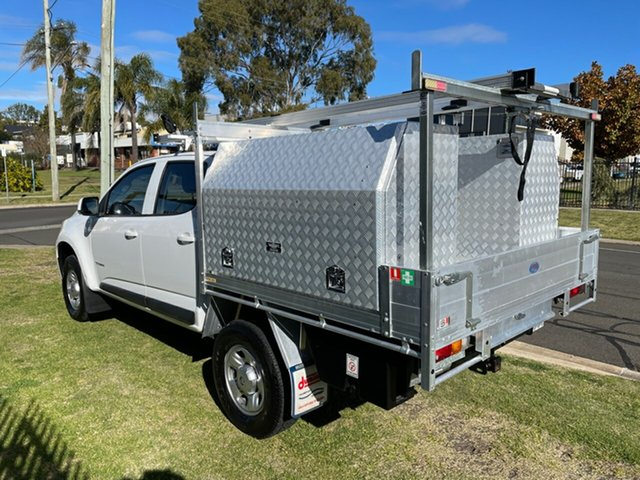 Used Holden Colorado RG MY16 LS (4x2) Toowoomba, 2016 Holden Colorado RG MY16 LS (4x2) White 6 Speed Automatic Crew Cab Chassis