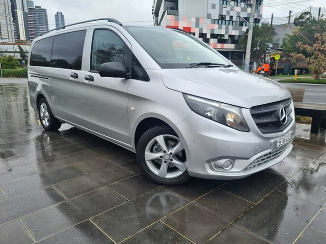 Used Mercedes-Benz Valente 447 116BlueTEC 7G-Tronic + South Melbourne, 2016 Mercedes-Benz Valente 447 116BlueTEC 7G-Tronic + Silver 7 Speed Sports Automatic Wagon