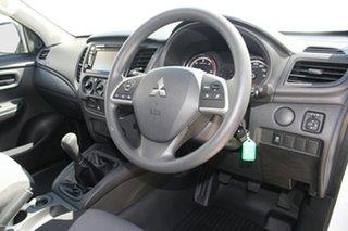2021 Mitsubishi Triton MR MY21 GLX 4x2 White 6 Speed Manual Cab Chassis