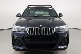 2014 BMW X4 F26 xDrive 30D Carbon Black 8 Speed Automatic Coupe.