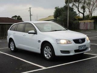 Holden Commodore VE II Omega White Auto Seq Sportshift Wagon.