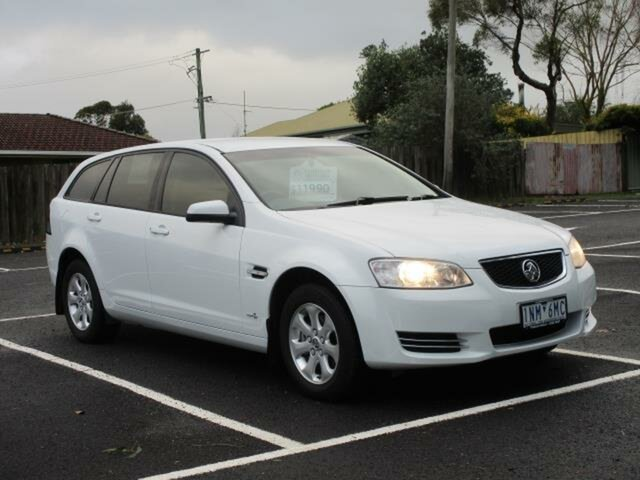 Used Holden Commodore VE II Omega Timboon, 2012 Holden Commodore VE II Omega White Automatic Wagon