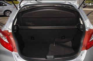 2010 Mazda 2 DE10Y1 MY10 Neo Silver 4 Speed Automatic Hatchback