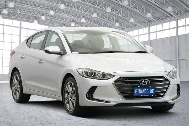 Used Hyundai Elantra AD MY17 Elite Victoria Park, 2016 Hyundai Elantra AD MY17 Elite Silver 6 Speed Sports Automatic Sedan