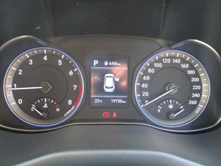 2019 Hyundai Kona OS.2 MY19 Active D-CT AWD Silver 7 Speed Sports Automatic Dual Clutch Wagon