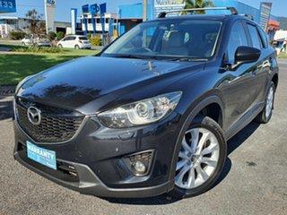 2012 Mazda CX-5 KE1021 Grand Touring Black 6 Speed Semi Auto Wagon.