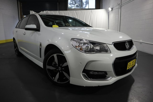 Used Holden Commodore VF II MY17 SV6 Sportwagon Castle Hill, 2017 Holden Commodore VF II MY17 SV6 Sportwagon White 6 Speed Sports Automatic Wagon