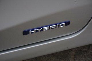 2011 Lexus CT ZWA10R CT200h Sports Luxury Silver 1 Speed Constant Variable Hatchback Hybrid