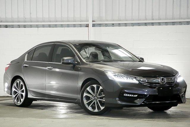 Used Honda Accord 9th Gen MY17 VTi-L West Gosford, 2018 Honda Accord 9th Gen MY17 VTi-L Grey 5 Speed Sports Automatic Sedan