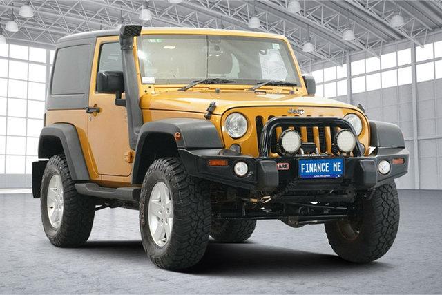 Used Jeep Wrangler JK MY2015 Sport Victoria Park, 2015 Jeep Wrangler JK MY2015 Sport Dune 5 Speed Automatic Softtop