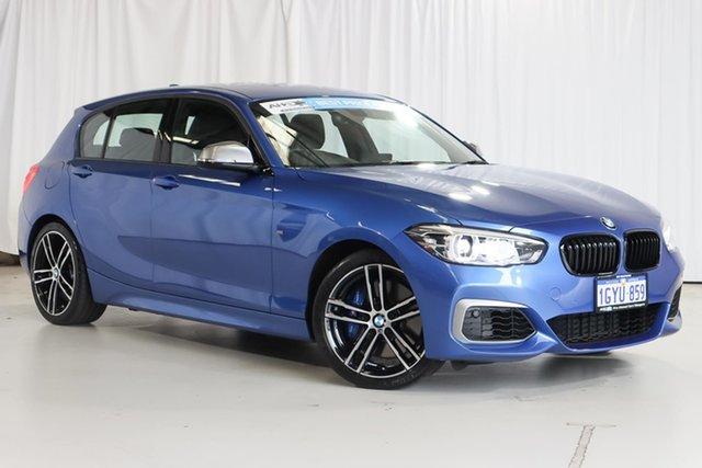 Used BMW 1 Series F20 LCI-2 M140i Wangara, 2018 BMW 1 Series F20 LCI-2 M140i Blue 8 Speed Sports Automatic Hatchback