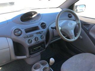 2002 Toyota Echo NCP12R Silver 5 Speed Manual Sedan