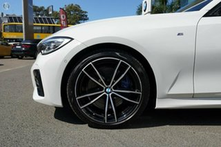 2020 BMW 330i F30 LCI M Sport Alpine White 8 Speed Auto Steptronic Sport Sedan.