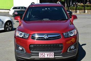 2015 Holden Captiva CG MY15 7 LTZ (AWD) Red 6 Speed Automatic Wagon.