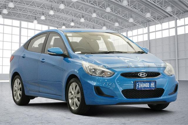Used Hyundai Accent RB6 MY18 Sport Victoria Park, 2018 Hyundai Accent RB6 MY18 Sport Blue Lagoon 6 Speed Sports Automatic Sedan