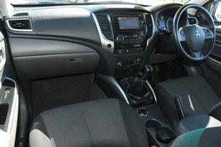 2016 Mitsubishi Triton MQ MY16 GLS Double Cab Grey 6 Speed Manual Utility