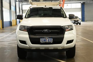 2018 Ford Ranger PX MkII 2018.00MY XL Hi-Rider Cool White 6 Speed Sports Automatic Cab Chassis