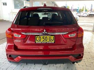 2017 Mitsubishi ASX LS Red Constant Variable Wagon