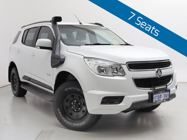 Used Holden Colorado 7 RG LT (4x4), 2012 Holden Colorado 7 RG LT (4x4) White 6 Speed Automatic Wagon