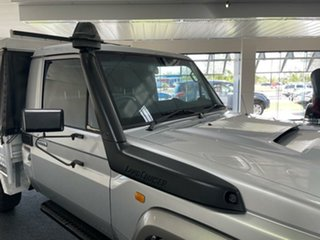 2009 Toyota Landcruiser VDJ79R MY10 GX Silver 5 Speed Manual Cab Chassis