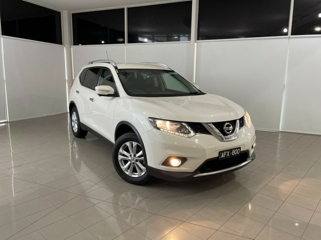 Used Nissan X-Trail T32 ST-L X-tronic 2WD Deer Park, 2015 Nissan X-Trail T32 ST-L X-tronic 2WD White 7 Speed Constant Variable Wagon