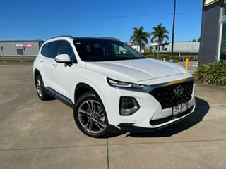 2018 Hyundai Santa Fe DM5 MY18 Highlander White/251018 6 Speed Sports Automatic Wagon.