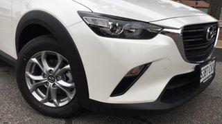 2021 Mazda CX-3 DK2W7A Maxx SKYACTIV-Drive FWD Sport White Pearl 6 Speed Sports Automatic Wagon.