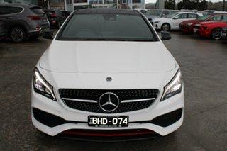 2018 Mercedes-Benz CLA-Class C117 809MY CLA250 DCT 4MATIC Sport White 7 Speed.
