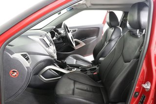 2012 Hyundai Veloster FS MY13 SR Turbo Red 6 Speed Automatic Coupe