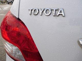 2009 Toyota Yaris NCP93R MY09 YRS White 4 Speed Automatic Sedan