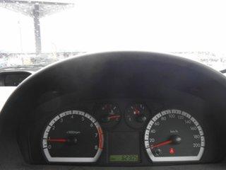 2011 Holden Barina TK MY11 White 4 Speed Automatic Hatchback.