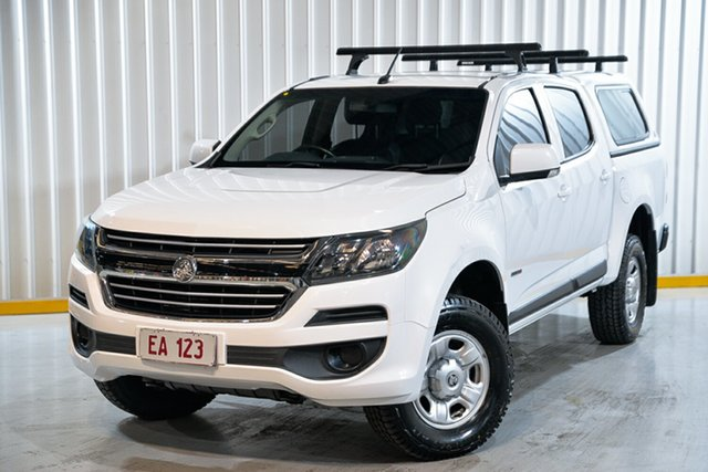 Used Holden Colorado RG MY17 LS Pickup Crew Cab 4x2 Hendra, 2017 Holden Colorado RG MY17 LS Pickup Crew Cab 4x2 White 6 Speed Sports Automatic Utility