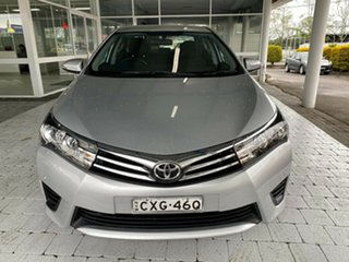 2015 Toyota Corolla ZRE172R Ascent Silver 7 Speed Constant Variable Sedan.