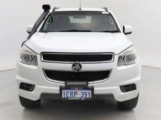 2012 Holden Colorado 7 RG LT (4x4) White 6 Speed Automatic Wagon.