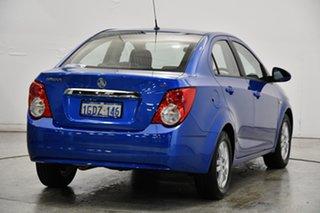 2016 Holden Barina TM MY16 CD Blue 6 Speed Automatic Sedan