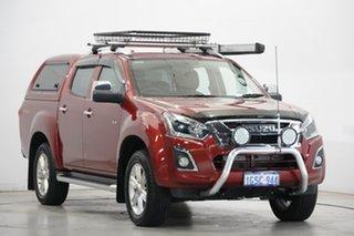 2019 Isuzu D-MAX MY19 LS-T Crew Cab Burgundy 6 Speed Sports Automatic Utility