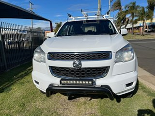 2016 Holden Colorado RG MY16 LS (4x2) White 6 Speed Automatic Crew Cab Chassis