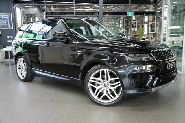 Used Land Rover Range Rover Sport L494 18MY SE North Melbourne, 2018 Land Rover Range Rover Sport L494 18MY SE Black 8 Speed Sports Automatic Wagon