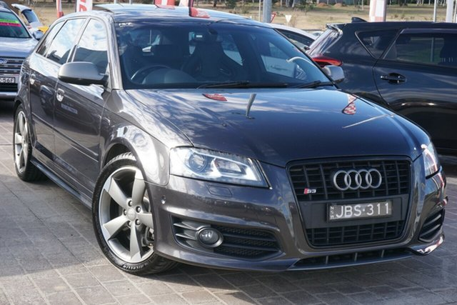 Used Audi S3 8P MY11 Sportback S Tronic Quattro Phillip, 2011 Audi S3 8P MY11 Sportback S Tronic Quattro Grey 6 Speed Sports Automatic Dual Clutch Hatchback