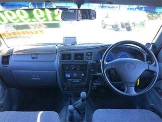 2001 Toyota Hilux RZN169R SR5 Silver 5 Speed Manual Utility