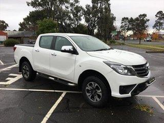 2018 Mazda BT-50 UR0YG1 XTR White 6 Speed Sports Automatic Utility.