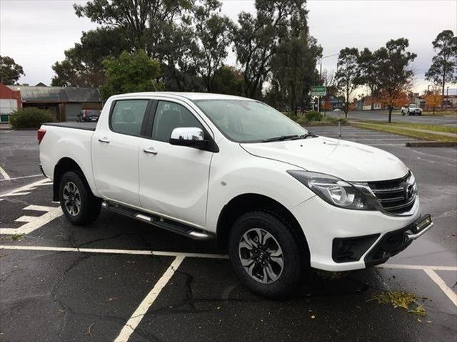 Used Mazda BT-50 UR0YG1 XTR Yarrawonga, 2018 Mazda BT-50 UR0YG1 XTR White 6 Speed Sports Automatic Utility