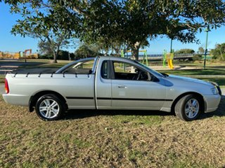 2006 Ford Falcon BF XL Ute Super Cab Silver 4 Speed Automatic Utility.