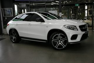 2016 Mercedes-Benz GLE-Class C292 GLE450 AMG Coupe 9G-Tronic 4MATIC White 9 Speed Sports Automatic.