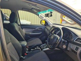2016 Mitsubishi Triton MQ MY17 GLS (4x4) Green 5 Speed Automatic Dual Cab Utility